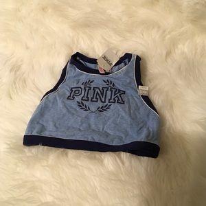 Pink tops/bra